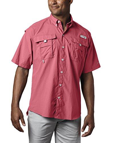5ed03d71146 Columbia Men's PFG Bahama II Short Sleeve Breathable Fishing Shirt ...