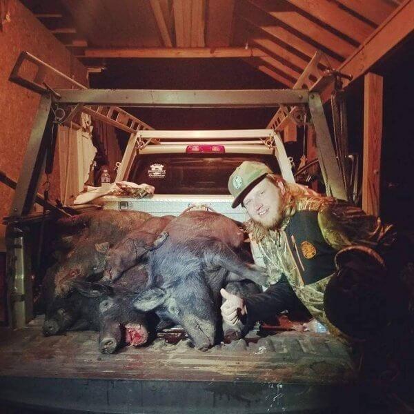 Ferrel Hog Hunting