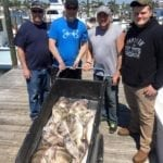 Four Men with a Copious Amount of Sheepshead