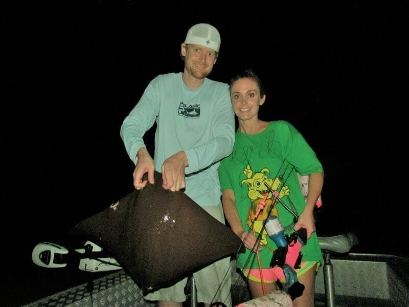 Dinner and a Bowfishing Trip