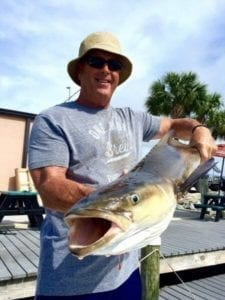 Man with Cobia