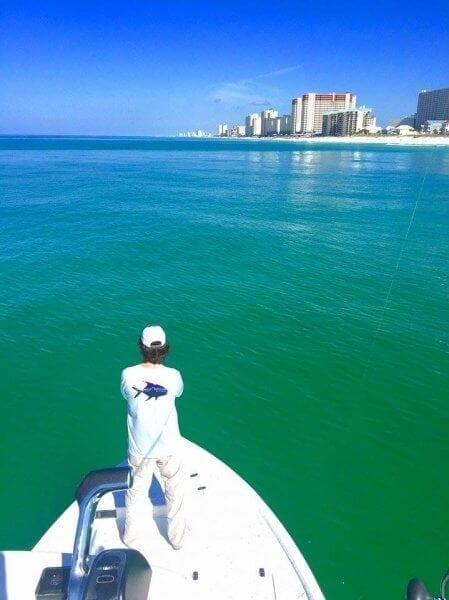 Sight Fishing in Panama City Beach