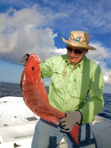 Catch Red Snapper with Intercoastal Safaris