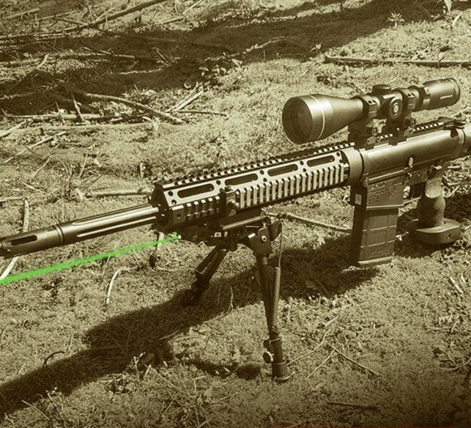 AR10 Green Lazer Accuracy