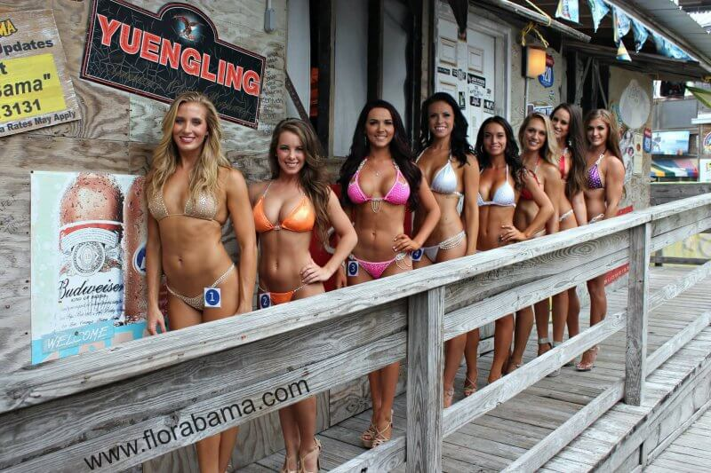 Bikini Contest at Flora-Bama