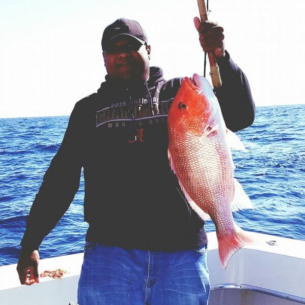 Red Snapper Catch Offshore