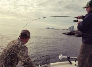 Fishing School for Fishing Redfish Nearshore