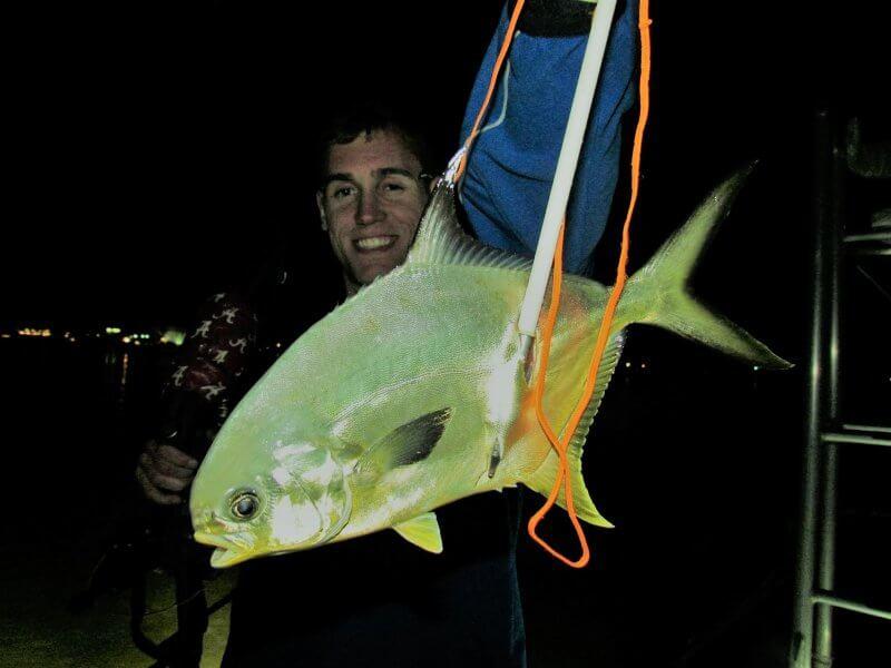 Bowfishing Pompano