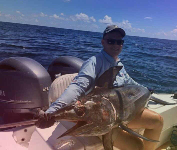 Swordfish Catch in Destin, Florida