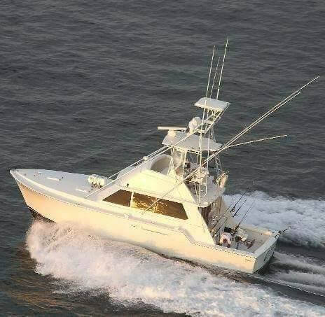 Travel long distances on Intercoatal Safaris' Bertram boat and fish for 24 hours!