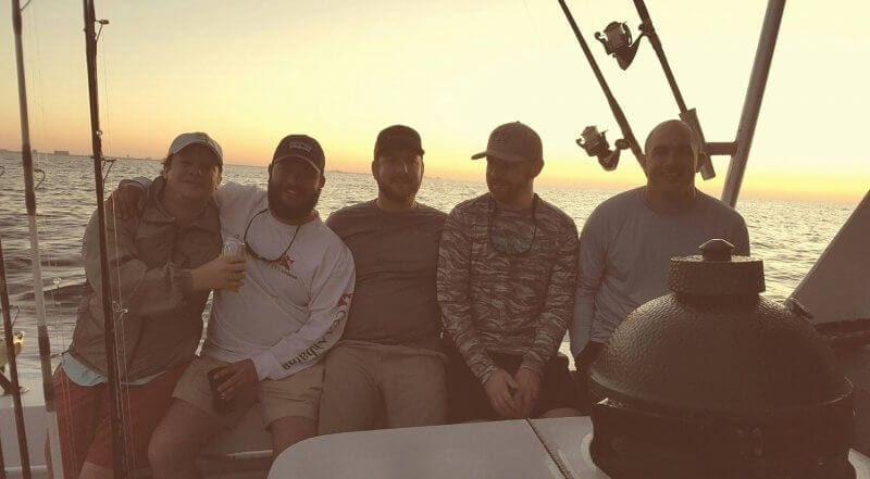 Bachelor Party on Gillman Sportfishing Boat