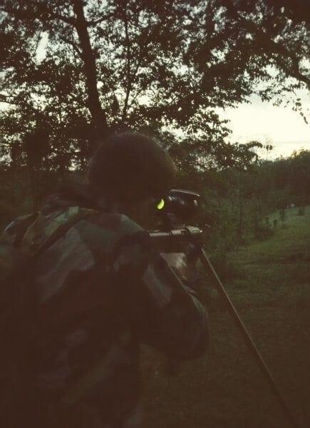 Beginning of Wild Hog Hunt