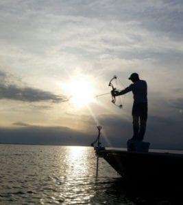 Bowfishing on the Gulf
