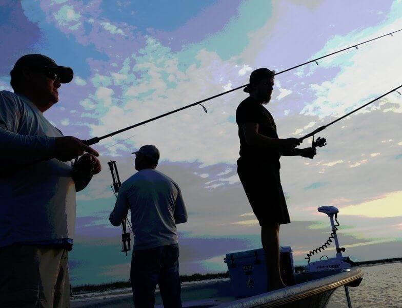 Dock Light Fishing