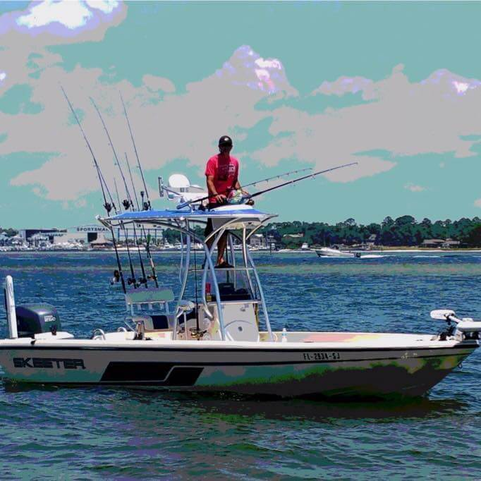 21-Foot Skeeter Center Console