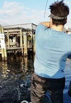 Catching Redfish Under Docks