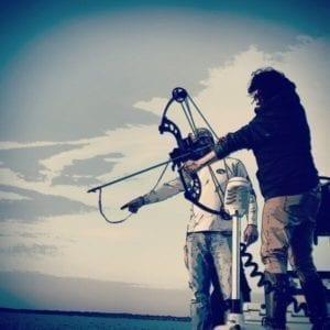 Female Bowfishing