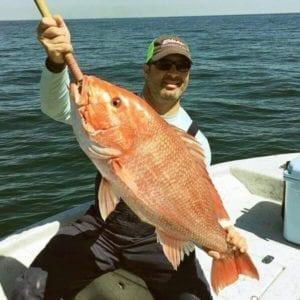 Red Snapper Caught in Orange Beach