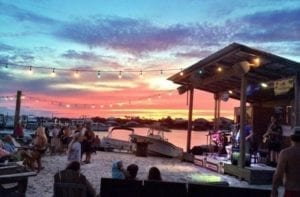 Outdoor Stage at Flora-Bama Yacht Club in Perdido Key