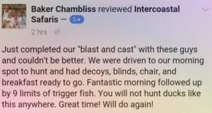Facebook Review for Ultimate Cast & Blast