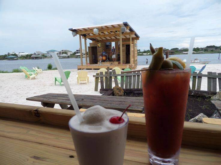 Flora-Bama Yacht Club Drinks