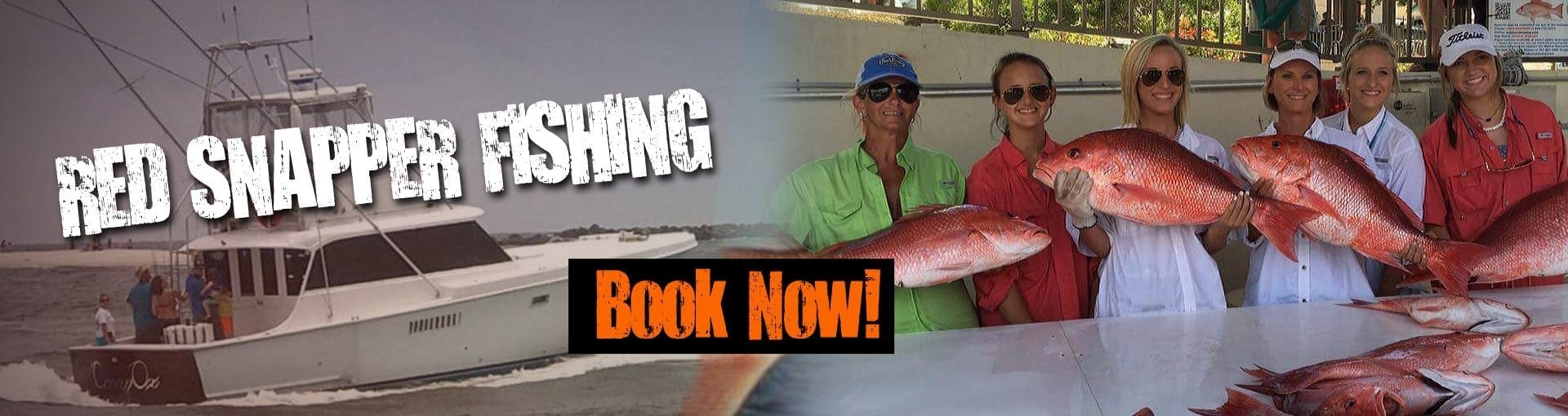red snapper fishing in alabama