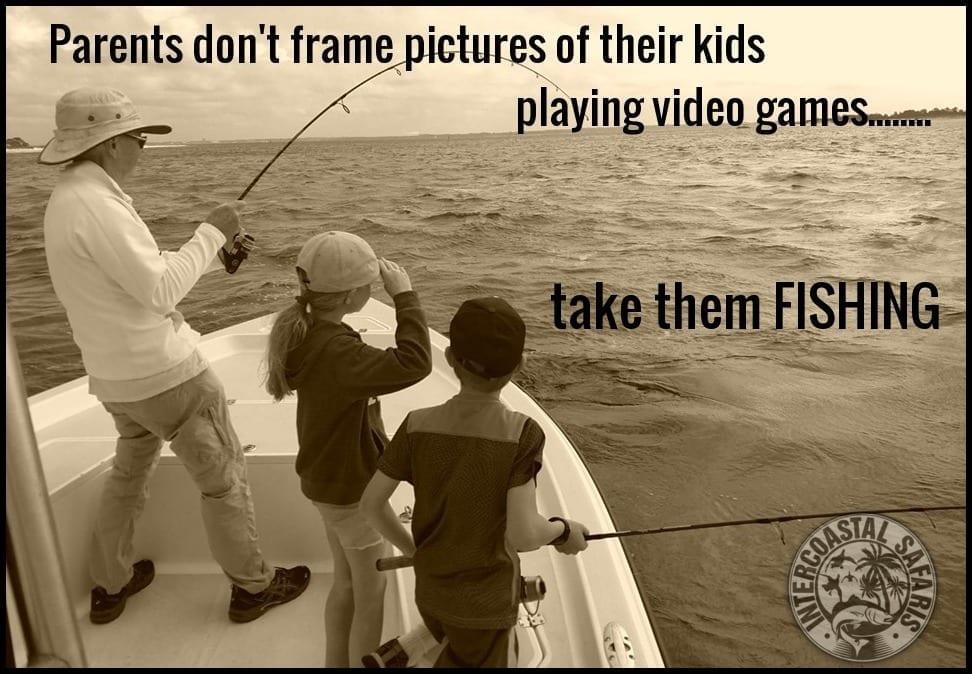 3- Kid Friendly Fishing Trips