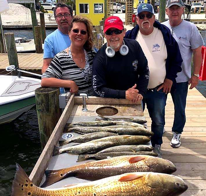 Where to catch Redfish in Alabama